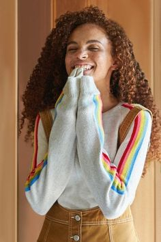 Shop Cooperative Rainbow Striped Sweater at Urban Outfitters today. We carry all the latest styles, colors and brands for you to choose from right here.