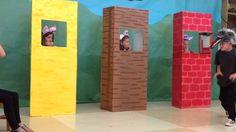 3 Little Pigs Activities, Drama Activities, Rhyming Activities, Kindergarten Activities, Toddler Activities, Nursery Rhymes Preschool, Preschool At Home, Fairy Tales Unit, Stars Play