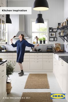 It all starts with inspiration. Every home needs a kitchen, but it's the look and feel — as well as the smart ways they help us out that makes them dream kitchens. Click to get inspired by our collection of IKEA kitchen styles and ideas.