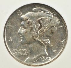 Rare Mercury Dimes: How Much Are They Worth? Many coin collectors love rare Mercury dimes. Find out how much these classic United States silver coins are worth. The post Rare Mercury Dimes: How Much Are They Worth? appeared first on POSPO Investments. Valuable Pennies, Valuable Coins, Silver Dimes, Silver Coins, Rare Coins Worth Money, American Coins, Coin Worth, Anthropologie, Coin Values