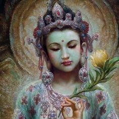 KwanYin GuanYin Kwan-Yin Guan-Yin Goddess of Compassion Green Tara, Ascended Masters, Divine Mother, Buddha Art, Sacred Feminine, Goddess Art, Guanyin, Gods And Goddesses, Asian Art