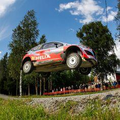 2015 WRC #Finland #Rally ! Thrilling #race of #Hyundai #Motor i20!