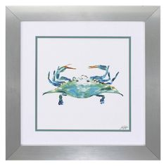 Propac Images Sea Creatures Framed Wall Art - Set of 2 | from hayneedle.com