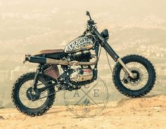 Royal Enfield Bullet -Scrambler Rat- To this we call . The Tractor is a Royal Enfield 500 efi , this engine has a feeling . Bike Friday, Brat Bike, Enfield Motorcycle, Royal Enfield Bullet, Motorcycle Companies, Triumph Scrambler, Old Motorcycles, Mini Bike, Custom Bikes