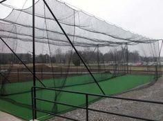 Charlotte West Stadium Batting Cages
