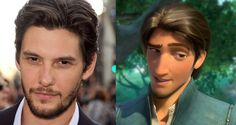Doppelgangers: UK Hunks Editionopplegangers... MY FAVOURITE ---->  Ben-Barnes-and-Flynn-Rider