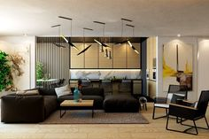 Modern and Luxury Living Room Designs Look So Outstanding With Perfect Decoration Cama Design, Loft Design, House Design, Modern Design, Living Room Modern, Living Room Designs, Living Room Decor, Wood Slats, Wood Paneling