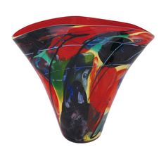Kaleidoscope Collection Bowl Viz Art Glass Bowls Decorative Bowls Home Decor