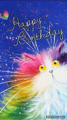 60 birthday wishes inspirational 1618 best happy birthday Happy Birthday Melissa, Happy Birthday Flower, Happy Birthday Pictures, Cat Birthday, Birthday Love, Animal Birthday, Happy Birthday Rainbow, Sister Birthday, Birthday Blessings