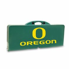 Outdoor Picnic Time NCAA College Team Logo Folding Picnic Table Green - 811-00-121-474-0