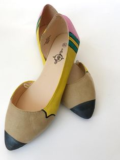 DIY Pencil Shoes - p