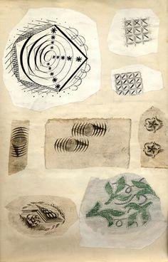 The Fry Art Gallery Online Edward Bawden Scrapbook