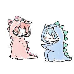 Cute Anime Chibi, Kawaii Chibi, Anime Neko, Kawaii Anime, Anime Art, Arte Do Kawaii, Kawaii Art, Kawaii Drawings, Cute Drawings