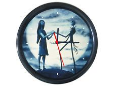 Nightmare Before Christmas Movie Cool Cartoon Round Wall Clock Nightmare Before Christmas Movie, Christmas Movies, Tim Burton Art, Cool Clocks, Cool Cartoons, Cool Stuff, Wall, Decor, Cool Watches