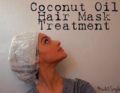 Coconut Oil Mask 7 @Amy Lyons Davidson I TOLD YOU SO lol