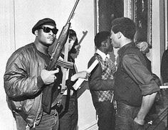 Black Panther Party vs Kkk | what goes around comes around blacks proclaiming their right to