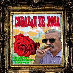 ANTOLOGIA  DEL  POETA  VICENTE  DOMINGUEZ  GARROCHENA:  CORAZÓN DE ROSA  Quise prended,una rosa___desde ...