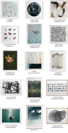 Minted's Newest Curator + 30 of My Favorite Art Prints! | Chris Loves Julia