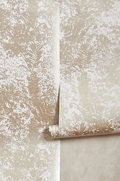 I just purchased this Shimmered Archive Wallpaper for my foyer! #anthropologie #kellydandesign