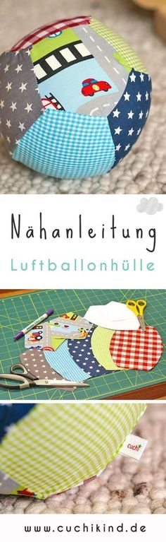 Luftballonhülle selbstgemacht Diy Toys handmade toys for toddlers Diy Toys Easy, Easy Diys For Kids, Knitting For Kids, Knitting For Beginners, Baby Knitting, Sewing Projects For Kids, Sewing For Kids, Knitted Bags, Knitted Blankets