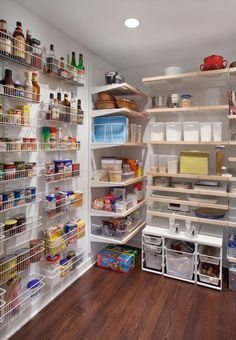 Eclectic Home Walk In Pantry Design, Pictures, Remodel, Decor and Ideas Eclectic Kitchen, Eclectic Living Room, Living Room Kitchen, Dining Room, Pantry Shelving, Pantry Storage, Pantry Organization, Organized Pantry, Wall Storage