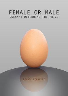 Gender equality ( Poster ) on Behance