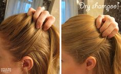 Dry Shampoo Picture from  Style Me Thrifty