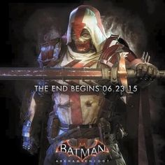 Batman Arkham Knight Azrael Poster