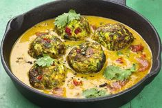 Spicy Zucchini Balls in Coconut-Tomato Sauce - Use BED approved oil & flour & organic coconut milk from BPA free can.  Not for phase One.