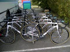 RSNT Trek Domanes prior to Paris-Roubaix 2012