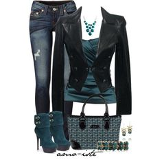 Ankle Boots, created by amo-iste on Polyvore