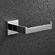 Toilet Paper Holder / PolishedStainless Steel /Contemporary – AUD $ 18.00