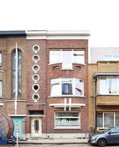 Ramen, Belgium, Art Deco, Houses, House Styles, Home Decor, Modern Architecture, Trendy Tree, Urban
