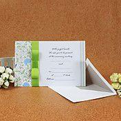 Leaf Pattern Wedding Invitation (Set of 50) – USD $ 48.59