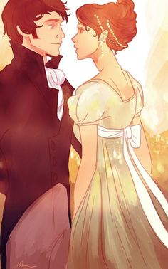 - beautiful -<<I'm going to assume this is Darcy and Elizabeth. Pride and Prejudice