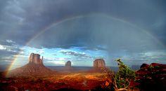 Monument Valley dopo un acquazzone by violentjack