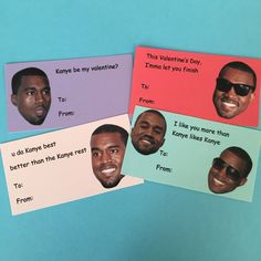 kanye west valentine's day card tumblr