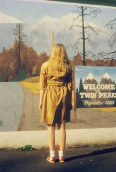 petra collins + tavi + twin peaks= PERFECTION