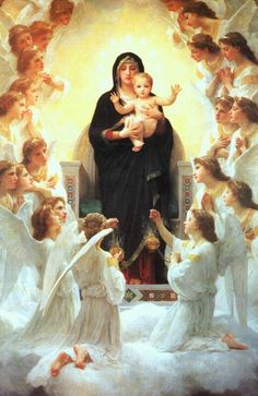 Our Lady, Queen of the Angels ~ Hail Holy Queen Our Hope