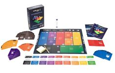 Game On! Juego para aprender a Gamificar! Board Game Design, Co Design, Layout Design, Graphic Design, Gaming, Games To Buy, Learning Games, Table Games, Brand Packaging
