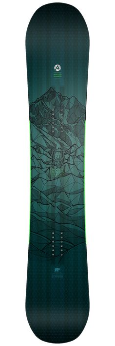 Pack snowboard Nidecker Pack Axis Hiver 2017 Dessus__1 2017