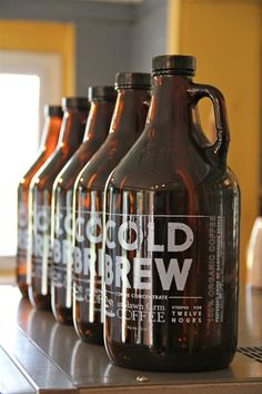 The latest from Ashlawn Farms, Cold Brew! Makes great iced #coffee!