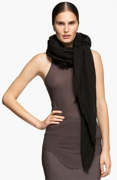 Rick Owens Wrap available at #Nordstrom
