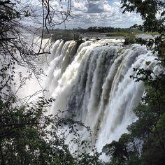 Victoria Falls in Livingstone, Southern