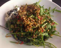 Greek Recipes, Seaweed Salad, Green Beans, Salads, Vegetables, Cooking, Ethnic Recipes, Food, Greek