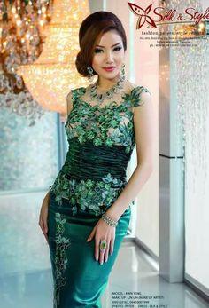c1deff462567 477 Popular Myanmar Lace Dresses images