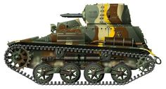 Type 94 Japanese Tank Artwork by Nicolas Gohin on missing-linx.com