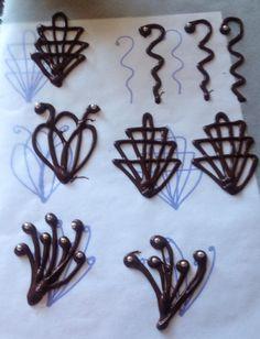 figuras de chocolate con globos - Buscar con Google Chocolate Work, Chocolate Bowls, Chocolate Sweets, Modeling Chocolate, Chocolate Recipes, Cake Decorating Piping, Cake Decorating Tools, Cookie Decorating, Candy Melts