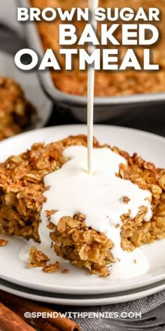 Perfect Breakfast, Breakfast For Dinner, Breakfast Dishes, What Is Baking, Quick Easy Healthy Meals, Baked Oatmeal Recipes, Mini Cheesecakes, Brunches, Pennies