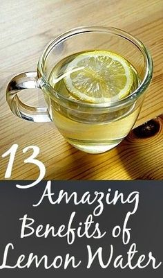 Amazing Benefits Of Drinking Lemon Water